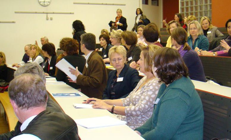 """2008: 1. ÖGSD Tagung: """"Sprachendidaktik im Dialog mit ihren Bezugswissenschaften"""""""